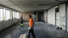 Els pisos en obres